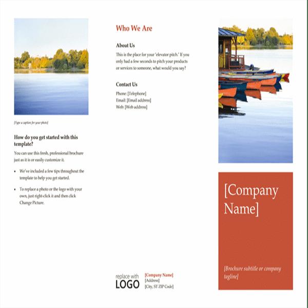 Company Brochure Template Image