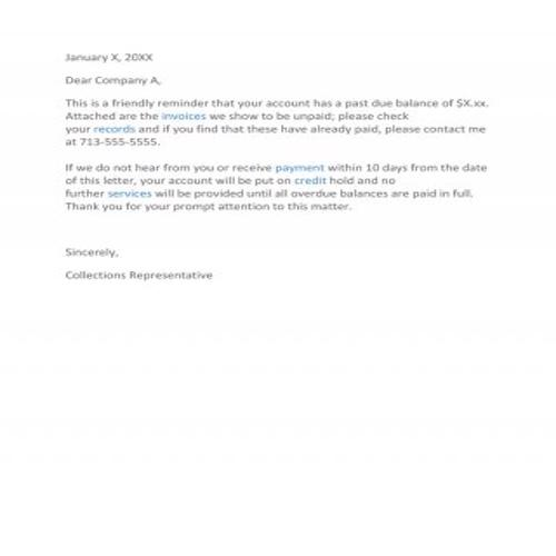 Sample Letter For Not Paying Debt from bestytemplates.com