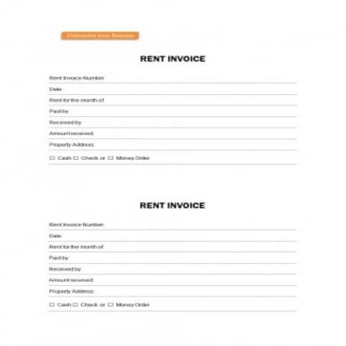 34 Free Rent Receipts Templates Editable Besty Templates