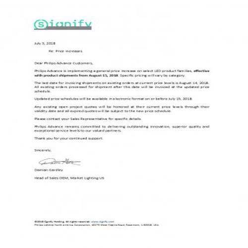 Sample Price Increase Letter To Customers from bestytemplates.com